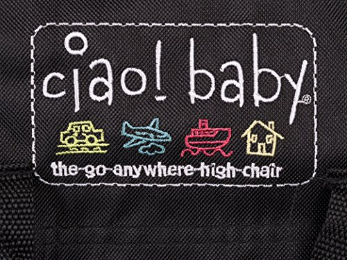 Ciao Baby Portable High Chair Black