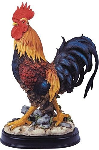 Chen Imports SS-G-54071 Rooster Chicken Farm Animals George S