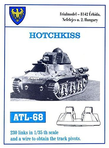 Friulmodel Atl68 1 35 Metal Track Link Set for French Hotchkiss