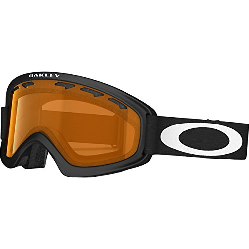 Oakley 02 Xs Snow Goggle Matte Black With Persimmon Lens