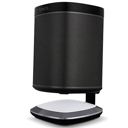 Flexson Illuminated Charging Stand For Sonos Play 1 Black
