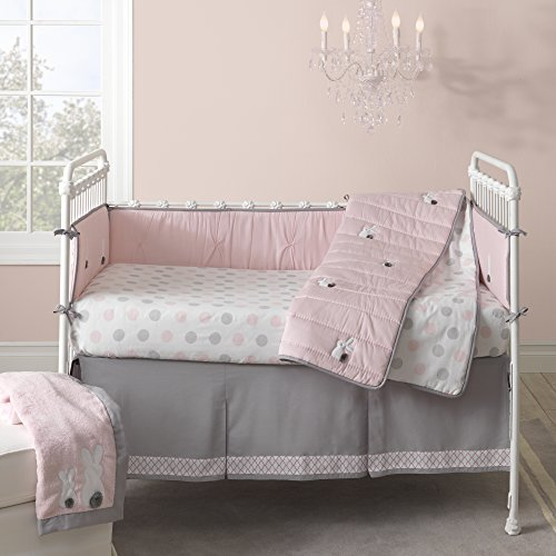 Lambs Ivy Bunny Collection Fitted Sheet Lattice