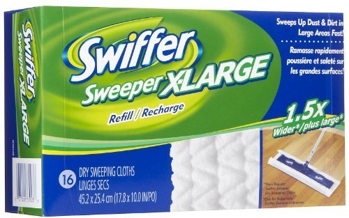 Swiffer Sweeper Pro Cloths Professional 16
