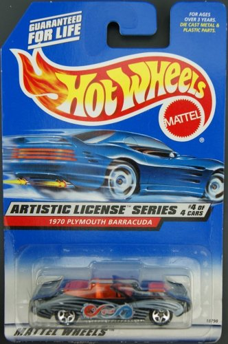 1997 Hot Wheels Artistic License Series 1970 Plymouth Barracuda 732