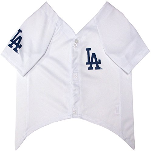 Pets First Mlb Los Angeles Dodgers Dog Jersey X Small