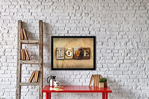 Dax 18 By 24 Inch Black Wood Wall Frame 2860w2x