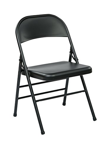Office Star Metal Frame Folding Chair With Seat And Back 4