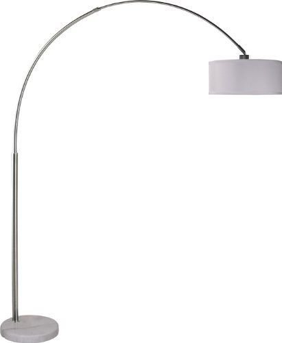 Milton Greens Stars Sophia Adjustable Arc Floor Lamp With