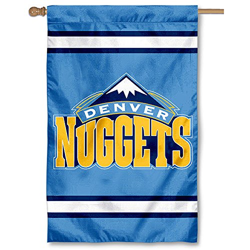 Party Animal Denver Nuggets Banner Nba Flag