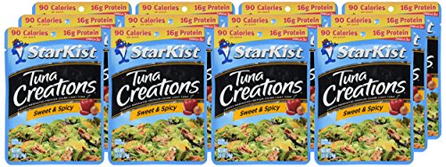 Starkist Tuna Creations Sweet Spicy 2 6 Ounce Pouches Pack