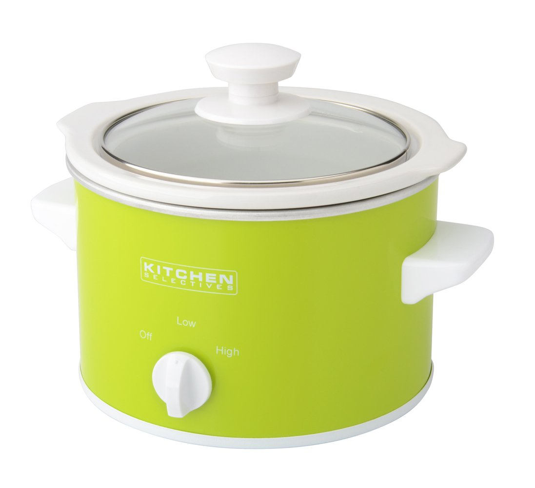 Kitchen Selectives: Kitchen Selectives Slow Cooker 1 5-quart Green