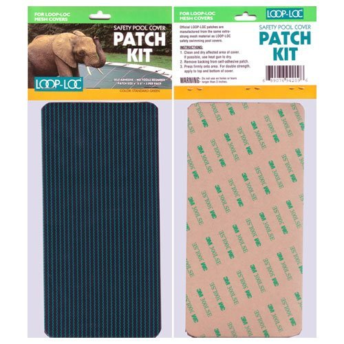 Loop Loc Safety Cover Patch Kit Green Mesh