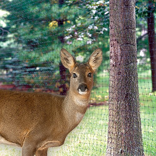 Yardgard 889553a 7 Foot By 100 Black Folded Deer Block Netting