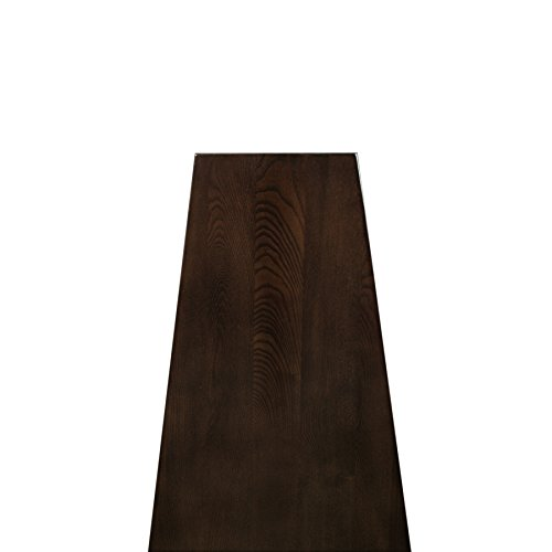 Leick Wedge End Table Chocolate Oak