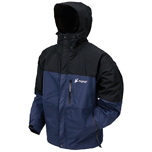 Frogg Toggs Toadz Rage Jacket Dust Blue Blk Xlg Nt6601 122xl